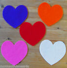16 - Felt Die Cuts - Large Heart - Crafts - Topper - Wedding - Applique - Cards