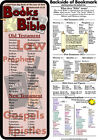 Bible Bookmark - Books of the Bible (Double Sided - Memorization Tool on back)