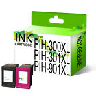 Printing Pleasure® Generic Ink Cartridges Replace For HP 300XL 301XL 901XL