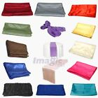 New One Piece Satin Table Runner Wedding Decoration 12*108inches Optional-Colors