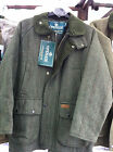 MENS OPEN AIR BRANDED TWEED SHOOTING HUNTING FARMING PADED JACKET SIZE XS-XXL