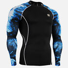 FIXGEAR CPD_B66 Compression base layer shirts design training gym MMA workout