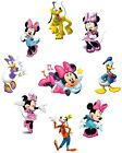 MINNIE MOUSE STICKER WALL DECAL OR IRON ON TRANSFER T-SHIRT FABRICS LOT P9