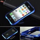 6 Colors Deluxe Aircraft Aluminum Bumper Frame Case Cover For Iphone 5