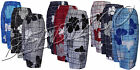 New Mens 3/4 Summer Floral Print Beach Shorts Surf Board Swim Shorts M - XXL