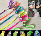 Adjustable Parrot Bird Harness for Training Playing 7colors