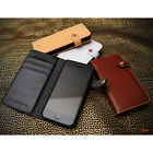 LIM'S Premium Leather Edition Diary Cover Case for iPhone 5 5S +1 Protect Film