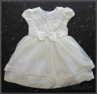Girls Designer Jona Michelle Party Bridesmaid Special Dress Ivory Age 3 BNWT