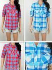 NWT HOLLISTER Women's Shirt Classic Fit  Scoop Hem  By Abercrombie