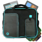 Nylon Messenger Carry Shoulder Cover Bag Case for Apple-iPad w/ Retina Display