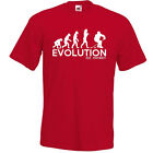 EVOLUTION OF MAN FROM APE TO ICE HOCKEY T-SHIRT Funny