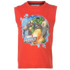 BOYS MARVEL T-SHIRT AGE 2-7 WOLVERINE HULK CARTOON VEST TOP  NEXT DAY POST BNWT