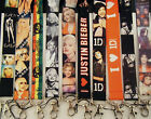 Lanyard for ID card, mobile phone, MP3, keys etc  Choice of Movie / Music Icons