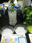 Water Marbles White Crystal Soil Gel Balls Plants Decoration Wedding Centerpiece