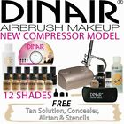 Dinair Studio Beauty Airbrush make up Kit with choice of colours+ free spray tan