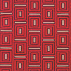 CANVAS 100% COTTON  HOME DéCOR GEOMETRIC SQUARE FABRIC CRAFT SOFA UPHOLSTERY 44""