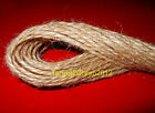 10m 20m 40m 100m Soft Natural Brown Rustic Jute String Cord Twine Sisal Crafts