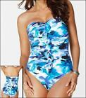 MIRACLESUIT BANDEAU MIRACLE STRAPLESS SWIM SUIT 10-14  SWIMMING COSTUME CRUISE