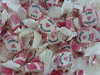 PINK JUST MARRIED ROCK SWEETS WEDDING FAVOURS WRAPPED