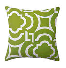 Richloom Carmody Kiwi Green Modern Outdoor Decorative Throw Pillow