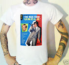 Man From Uncle Vintage Book Cover T-Shirt Robert Vaughn David McCallum