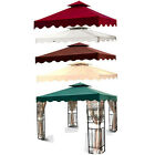 New MTN 10'x10' Gazebo Canopy 2 Tier with Scallop Top Cover Replacement