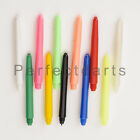 10 x SETS OF NYLON DART STEMS SHAFTS - You Choose Colour + Length