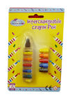 Interchangable Crayon (6 colours) - Younger Girls Party Bags Stocking Fillers