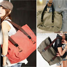 New Women's Canvas Tote Shoulder Bag School Student Bag Big Satchel A0437