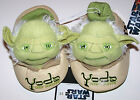 Nwt New Star Wars Lucas Yoda Jedi Master Slippers Shoes Green Cute Toddler Boy