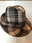 HAT by Stylesnob, Denmark, Tweed, Black & White, NEW w/ tag