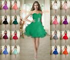 New Short Strapless Prom Dresses/Homecoming/Bridesmaid Party Cocktail Size 6-26
