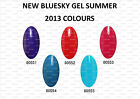 NEW SUMMER COLOURS, BLUESKY, NAIL POLISH, UV/LED GEL.