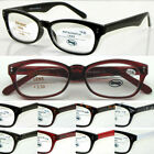 L143 Wayfarer Reading Glasses Spring Hinges + Metal Case +50+100+150+200+250+300