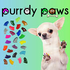 40 Pack Soft Nail Caps For Dog Claws * Purrdy Paws * USA * 14 Glitter Colors