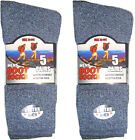 10 PAIRS MENS TOUGH OUTDOOR HIKING WALKING BOOT SOCKS WORK CONSTRUCTION ASSORTED