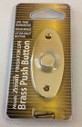 Brass Door Bell Lit / Unlit Button Gold door bell with light Wired Door Bell