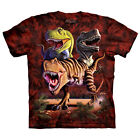 Rex Collage Child  Dinosaurs Unisex T Shirt The Mountain
