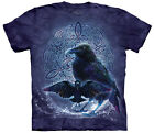 Celtic Raven Adult  Animals Unisex T Shirt The Mountain