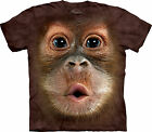 Big Face Baby Orangutan  Adult Animals Mountain Unisex T Shirt