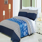 Duvet Cover Bedding Set - 100% Egyptian Cotton Lydia Comforter Cover Duvet