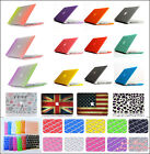 Rubberized Hard Case Cover + Keyboard Skin For Macbook Air Pro 11 13 15 & Retina
