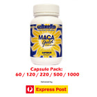 MACA GOLD Capsules ~ Certified Organic Root 550mg ~ Incas Superfood Premium