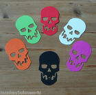 10 or 20 - Halloween Die Cuts - Skull - Topper - Kids/Party Invitations - Cards