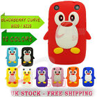 SOFT GEL SILICONE SKIN Cute PENGUIN CASE COVER FOR BLACKBERRY CURVE 9320 / 9220