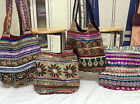 10 pcs Tribal Indian Ethnic Beaded boho bag Wholesale Handmade Gypsy Hippie bag