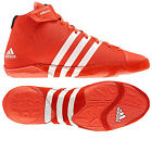 NEW ADIDAS ADIZERO WRESTLING 2012 CORE EG WRESTLING BOXING LIGHTWEIGHT RED BOOTS