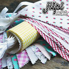 JILPI COTTON FABRIC BUNTING, MADE IN UK, 20+ STYLES, GREAT VALUE, BEST SELLERS!