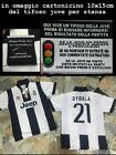 t-shirt maglietta ufficiale juventus pirlo bianconera juve official team