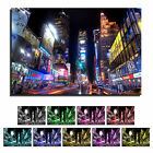 New York City Time Square NYC Picture Framed Canvas Art Print